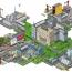 Digital City | Isometric Pixel Illustration |HUBERT BURDA MEDIA