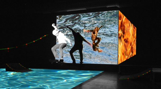 """Solid Elements"" – Skateboarding & Choreography in Virtual Space, Istanbul 2011"